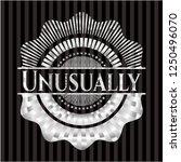 unusually silver emblem | Shutterstock .eps vector #1250496070