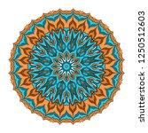 sacred oriental mandala. color... | Shutterstock .eps vector #1250512603