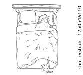 cat catching legs under the...   Shutterstock .eps vector #1250546110