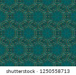 seamless pattern with symmetric ... | Shutterstock . vector #1250558713