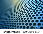 metal sheet with many small... | Shutterstock . vector #1250591110