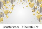 vector illustration balloon of... | Shutterstock .eps vector #1250602879