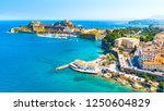 panoramic view of kerkyra ... | Shutterstock . vector #1250604829