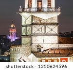 2018 istanbul  most beautiful... | Shutterstock . vector #1250624596