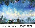 winter design.  christmas... | Shutterstock . vector #1250627779