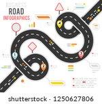 info business plan navigation...   Shutterstock .eps vector #1250627806