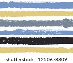 horizontal ink lines paint... | Shutterstock .eps vector #1250678809