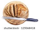 Loaf Of Wholemeal Bread With...