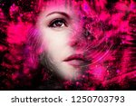 space mind  alien | Shutterstock . vector #1250703793