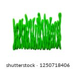 plasticine colorful grass... | Shutterstock . vector #1250718406