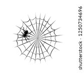 collection of cobweb  isolated... | Shutterstock .eps vector #1250734696