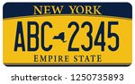 vehicle licence plates marking... | Shutterstock .eps vector #1250735893