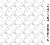 seamless geometric ornamental...   Shutterstock .eps vector #1250743159