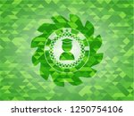 graduation icon inside green... | Shutterstock .eps vector #1250754106