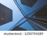 low angle  frog view of...   Shutterstock . vector #1250754289