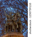 Statue Charlemagne Outside Notre Dame - Fine Art prints