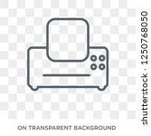 fax machine icon. fax machine... | Shutterstock .eps vector #1250768050