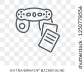 game based learning icon.... | Shutterstock .eps vector #1250778556