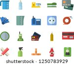 color flat icon set pipes flat... | Shutterstock .eps vector #1250783929