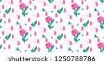 beautiful elegant wallpaper... | Shutterstock .eps vector #1250788786