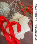 package for new year or... | Shutterstock . vector #1250834989
