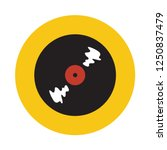 vinyl record flat icon. you can ...