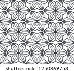 seamless floral pattern. vector ... | Shutterstock .eps vector #1250869753