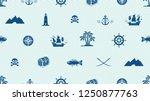 vector seamless pattern on a... | Shutterstock .eps vector #1250877763