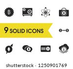 financial icons set with...