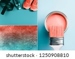 creative collage in living... | Shutterstock . vector #1250908810