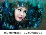 fairy and magic numerology | Shutterstock . vector #1250908933