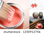 creative collage in living...   Shutterstock . vector #1250912746