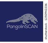pangolin scan technology logo...   Shutterstock .eps vector #1250942236