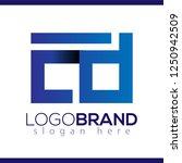 cd initial letter lowercase... | Shutterstock .eps vector #1250942509