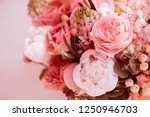 beautiful blossoming flowers ... | Shutterstock . vector #1250946703