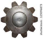 Machine Gear  Metal Cogwheel....