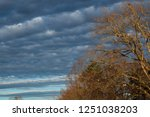 early morning sky with shades... | Shutterstock . vector #1251038203