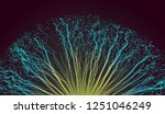point explode. array with... | Shutterstock .eps vector #1251046249