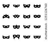 masquerade mask icon for... | Shutterstock .eps vector #1251126760