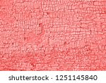 living coral color of the year... | Shutterstock . vector #1251145840