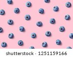 colorful fruit pattern of... | Shutterstock . vector #1251159166