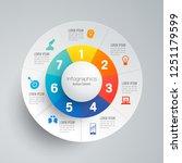 infographics design vector and... | Shutterstock .eps vector #1251179599