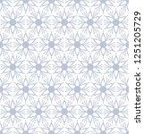 seamless floral pattern. vector ... | Shutterstock .eps vector #1251205729