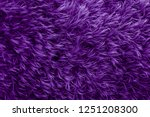 Purple Fur Texture. Violet...