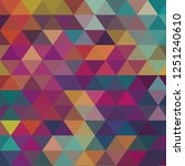 abstract geometric background.... | Shutterstock .eps vector #1251240610