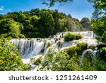 plitvice lakes of croatia  ...   Shutterstock . vector #1251261409