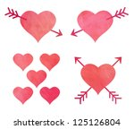 Isolated Hearts And Arrows...