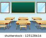 illustration of a clean and... | Shutterstock .eps vector #125128616