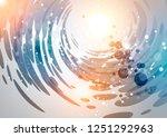 holiday background  circular...   Shutterstock . vector #1251292963