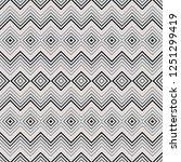 geometric seamless pattern ... | Shutterstock .eps vector #1251299419